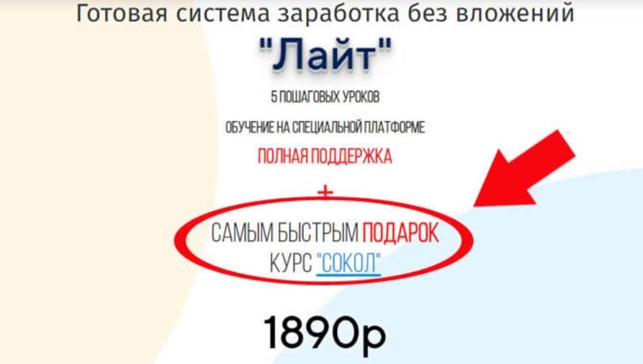 Система Лайт Андрея Копылова